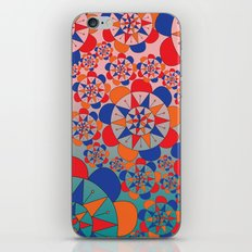 FLORAL PATTERN iPhone & iPod Skin