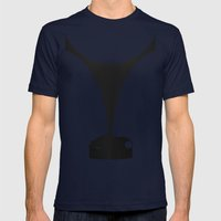 Silhouette Racers - Rolls-Royce Phantom 1 Jonckheere Coupe Mens Fitted Tee Navy SMALL