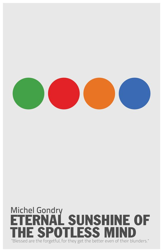 Eternal Sunshine of a Spotless Mind | Minimalist Movie Poster Art Print