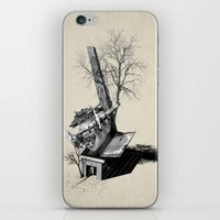 Immerse & Pondering iPhone & iPod Skin