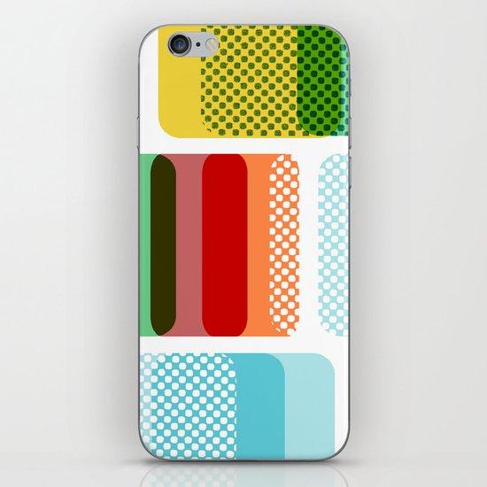 Layered Squares no.2 iPhone & iPod Skin
