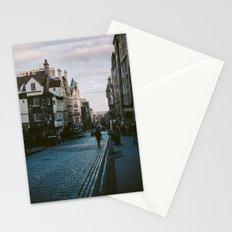 The Royal Mile in Edinburgh, Scotland Stationery Cards