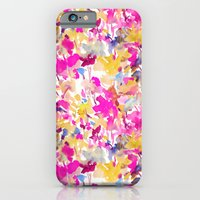 iPhone & iPod Case featuring Local Color Yellow Pink by Jacqueline Maldonado