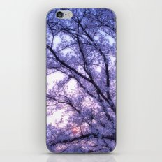 Periwinkle Lavender Flower Tree iPhone & iPod Skin