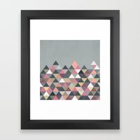 Nordic Combination 13 Framed Art Print