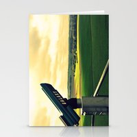Overlooking the battlefield Stationery Cards