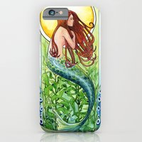 Kelp Forest Mermaid iPhone 6 Slim Case