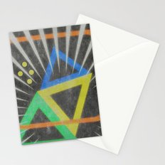 Op Ning A Jazz Singer Stationery Cards