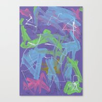 Abstract 162 Canvas Print