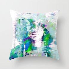 Ode To Badu Throw Pillow