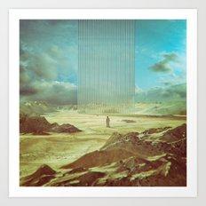 RELIEF (EVERYDAY 02.04.16) Art Print