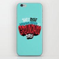 It's Groundhog Day! iPhone & iPod Skin