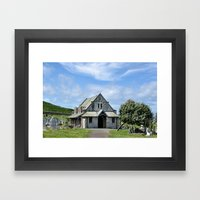 Great Orme Cemetery Framed Art Print