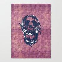 Death in Parts Canvas Print