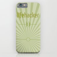 iPhone & iPod Case featuring Essence of Lifehacker by Salmanorguk