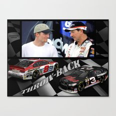 #Earnhardt throwback #3 #8 Canvas Print