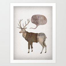 Repeat the Sounding Joy Art Print