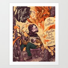 Fleet Foxes Poster Art Print