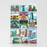 Barcelona anno 1 Stationery Cards