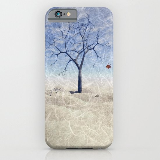 When the last leaf falls iPhone & iPod Case