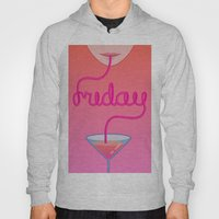 Friday Cocktail Letterin… Hoody
