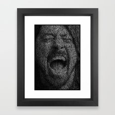 Dave Grohl. Best Of You Framed Art Print