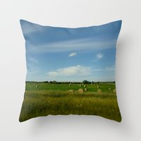 Summertime In WaterValle… Throw Pillow