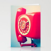 Dr. Strangelove (Vintage Red Telephone) Stationery Cards