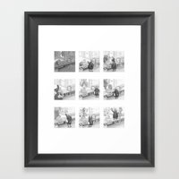 A Day In The Life Of A F… Framed Art Print