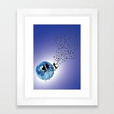 Hello E.T. Framed Art Print