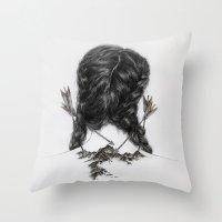 Insecurities Throw Pillow