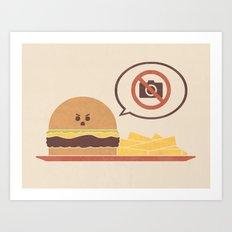 No Photography Allowed Art Print