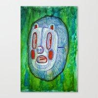 Pigmask Canvas Print