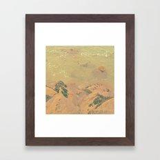 The California Summer Series // Rocks Framed Art Print