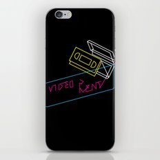 Video Is For Rent iPhone & iPod Skin