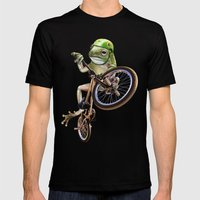 FROG BMX Mens Fitted Tee Black SMALL