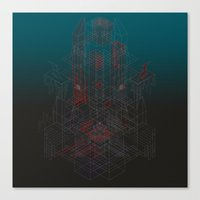 Forgotten Crypt of the Amnesiac Immortal Canvas Print
