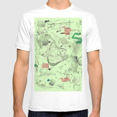 7-14-15 Mens Fitted Tee White SMALL