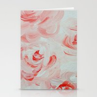Pale Roses Stationery Cards