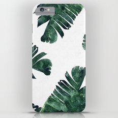 Banana Leaf Watercolor Pattern #society6 iPhone 6s Plus Slim Case