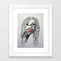 nikki Framed Art Print