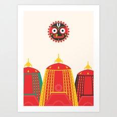 Rathyatra Art Print