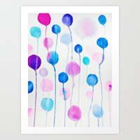 candy Art Prints featuring Candy by Ducky B