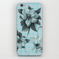 Flowers 2 iPhone & iPod Skin
