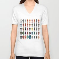 Iron Man - The Pixel Collection Unisex V-Neck