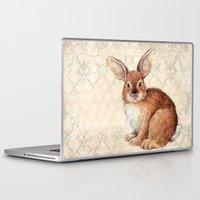 rabbit Laptop & iPad Skins featuring Rabbit by Patrizia Ambrosini