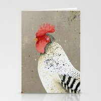 Rooster Wallace Stationery Cards