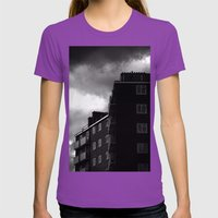 Tottenham Flats Womens Fitted Tee Ultraviolet SMALL