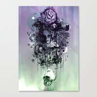 Doom and Bloom Canvas Print