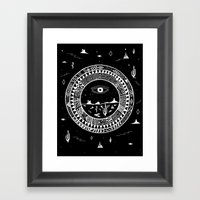 Interstellar Deserts Framed Art Print